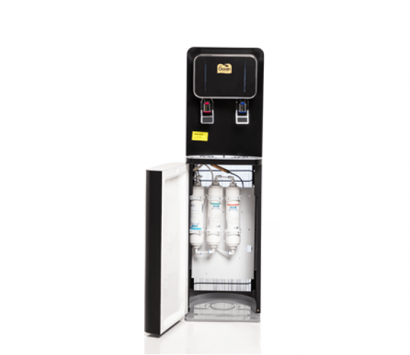 gold label floor stand direct piping water dispenser