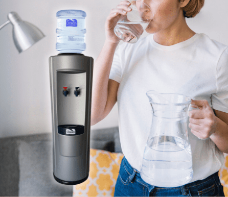 Pere Ocean Grey Water Dispenser (Hot & Cold)